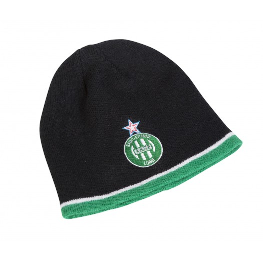 Bonnet AS Saint-Etienne Logo Noir