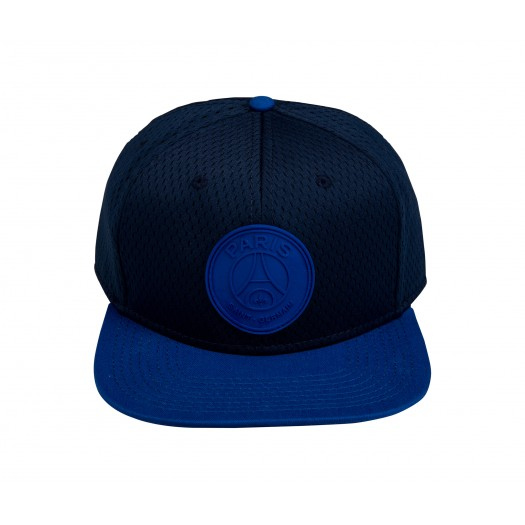 Casquette Flat Paris Saint Germain Bleu
