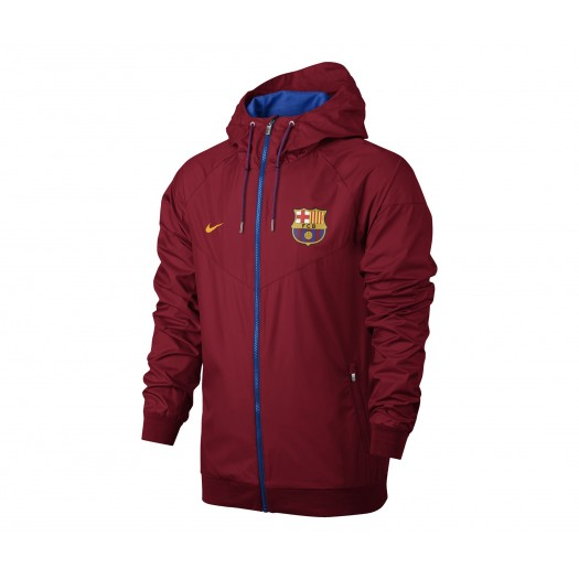Coupe vent Nike Authentic Barcelone Rouge