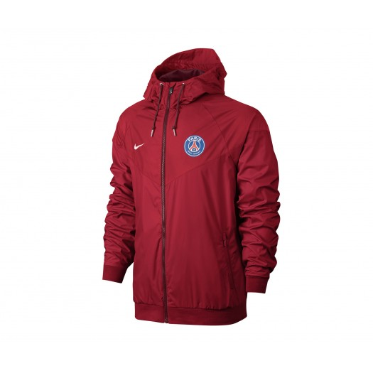 Coupe vent Nike Authentic Paris Saint-Germain Rouge