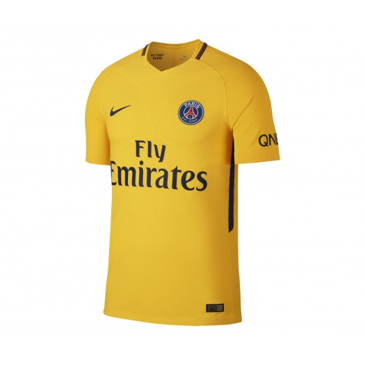 Maillot Match Nike Paris Saint Germain Extérieur 2017/18 Jaune