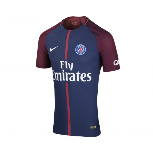 Maillot Match Paris Saint-Germain Domicile 2017/18 Bleu