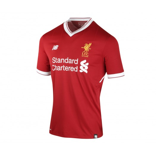 Maillot New Balance Liverpool Domicile 2017/18 Rouge
