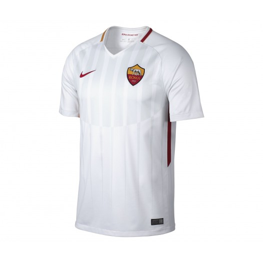 Maillot Nike AS Roma Extérieur 2017/18 Blanc