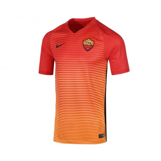 Maillot Nike AS Roma Third 2016/17 Rouge et Orange Enfant