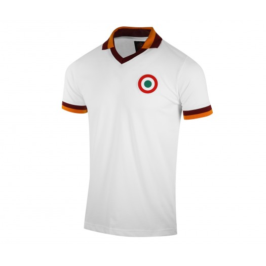 Maillot Rétro AS Roma 1980 Blanc