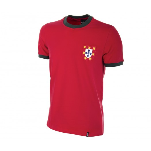 Maillot Retro Portugal 1960 Rouge