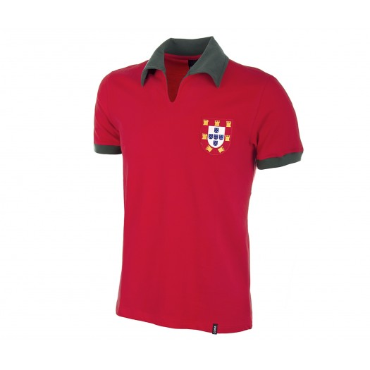 Maillot Retro Portugal 1972 Rouge