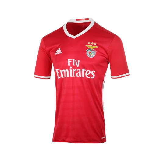 Maillot adidas Benfica Domicile 2016/17 Rouge