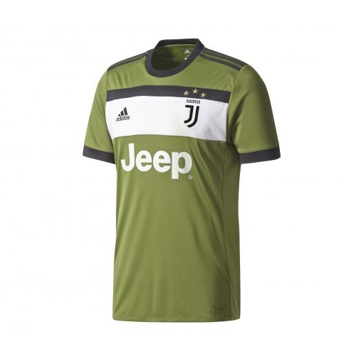 Collection Maillot adidas Juventus Third 201718 Vert Soldes