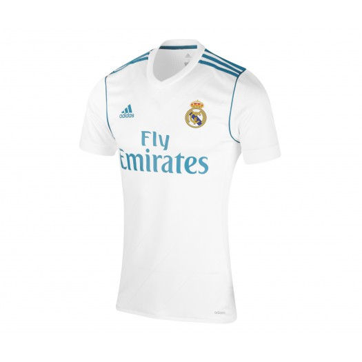 Maillot adidas Real Madrid Domicile 2017/18 Blanc