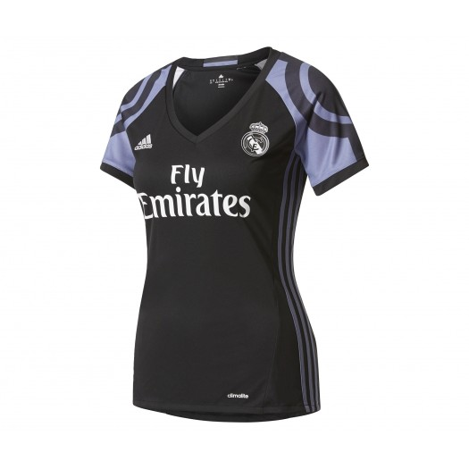 Maillot adidas Real Madrid Third 2016/17 Noir Femme