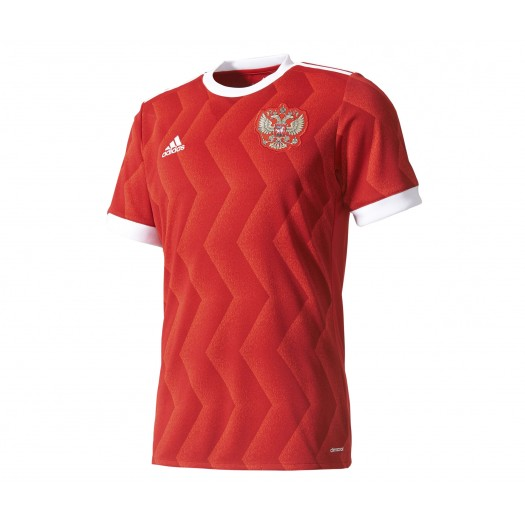 Maillot adidas Russie Domicile 2017/18 Rouge