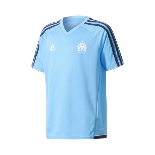 Entraînement Marseille Bleu Adidas Enfant De Maillot Olympique 351cTJulKF