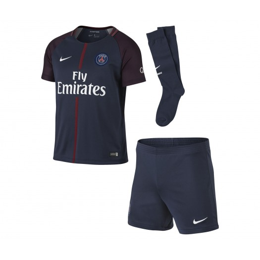Mini Kit Nike Paris Saint-Germain Domicile 2017/18 Bleu