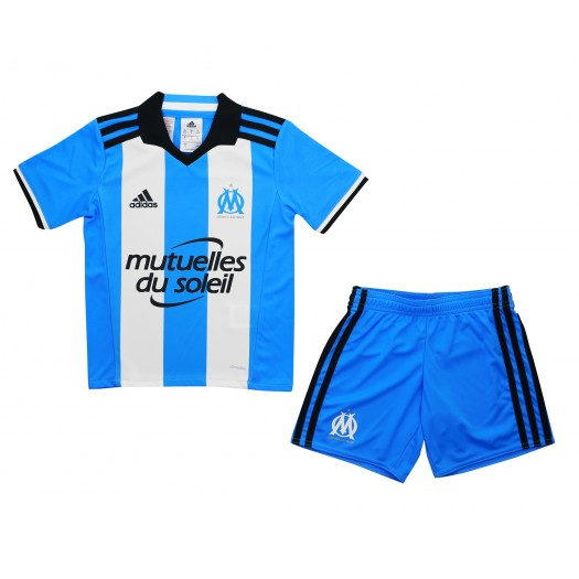 Mini Kit adidas Olympique de Marseille Third Bleu