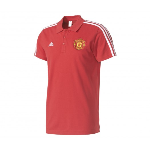 Polo adidas Manchester United Rouge