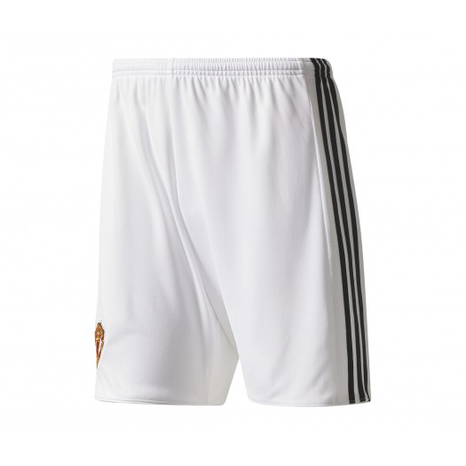 Short adidas Manchester United Domicile 2017/18 Blanc