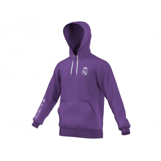 Sweat à capuche adidas Real Madrid Violet