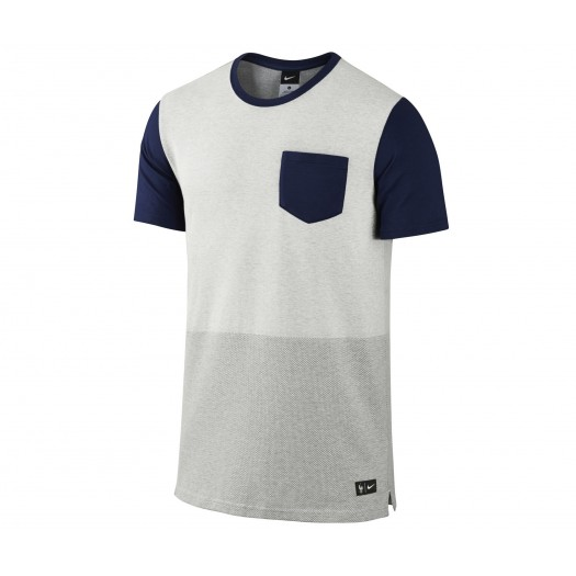 T-shirt Nike Authentic FFF Gris