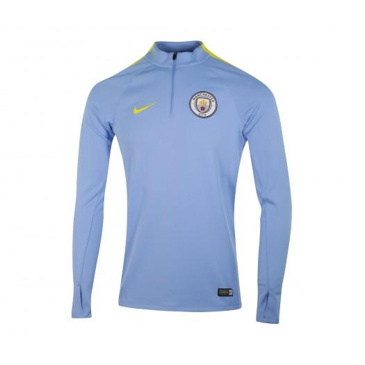 Vente Training Top Nike Manchester City Bleu