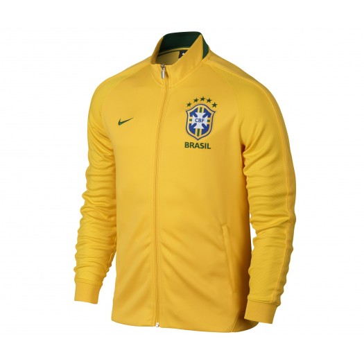 Veste Authentic N98 Brésil Jaune