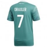 Coupe Du Monde 2018 Allemagne Enfant DRAXLER Maillot Extérieur 2018/2019