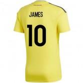 Coupe Du Monde 2018 Colombie Enfant JAMES Maillot Domicile 2018/2019