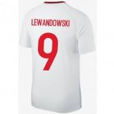 Coupe Du Monde 2018 Pologne Fan Shirt LEWANDOWSKI Maillot Domicile 2018/2019