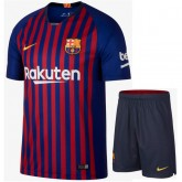 Ensemble Foot Barcelone 2018/2019 Maillot Short Domicile