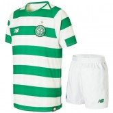 Ensemble Foot Celtic Glasgow Enfant Adolescents 2018/2019 Maillot Short Domicile