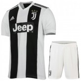 Ensemble Foot Juventus Enfant Adolescents Domicile 2018/2019 Maillot Short