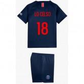 Ensemble Foot PSG LO CELSO Enfant Paris Saint Germain Domicile 2018/19