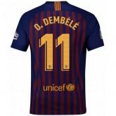 Maillot de Foot Barcelone Enfant DEMBÉLÉ Domicile 2018/19