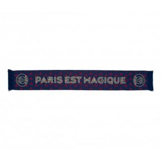 """Écharpe Paris Saint-Germain """"Paris est magique"""" Bleu"""