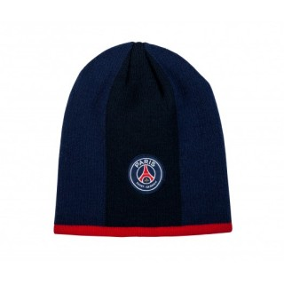Bonnet Paris Saint-Germain Logo Bleu Enfant