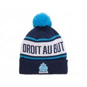 Bonnet Pompon Olympique de Marseille Bleu