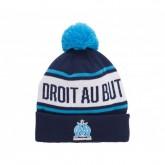 Bonnet Pompon Olympique de Marseille Bleu Enfant