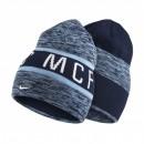 Bonnet Réversible Nike Manchester City Bleu