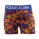 Boxer FC Barcelone All Over Bleu/Rouge