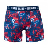 Boxer Paris Saint-Germain All Over Bleu