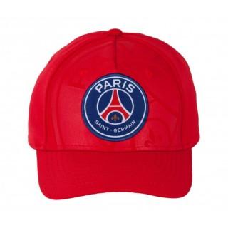 Casquette Big Logo Paris Saint-Germain Rouge