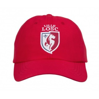 Casquette LOSC Logo Rouge
