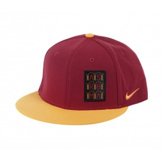 Casquette Nike AS Roma Rouge