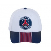 Casquette Paris Saint-Germain Stripe Blanc