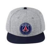 Casquette US Paris Saint-Germain Logo Gris