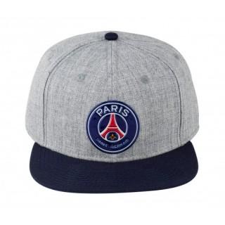 Casquette US Paris Saint-Germain Logo Gris