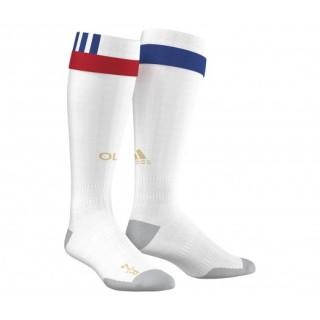 Chaussettes adidas de l'Olympique Lyonnais saison 2016/17 Blanc