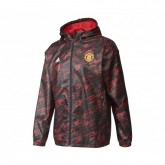 Coupe Vent adidas Manchester United Noir