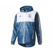 Coupe Vent adidas Real Madrid Bleu